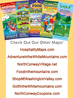 North Conway Map & Guides